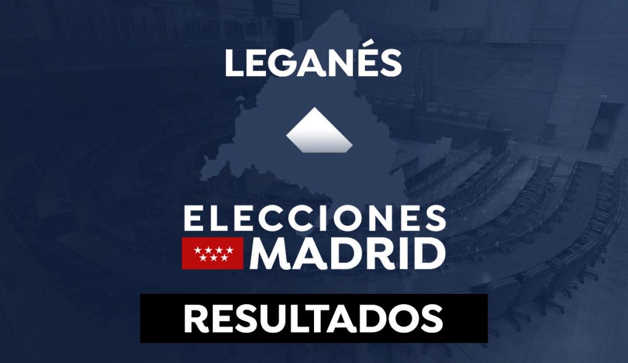 Resultado en Leganés de las elecciones a la Comunidad de Madrid