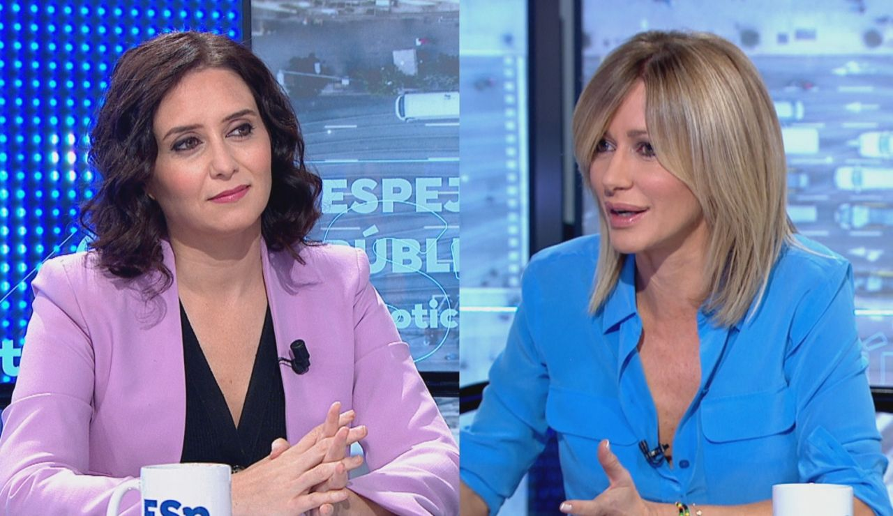 """Isabel Díaz Ayuso: """"Nos va a votar mucha gente de izquierdas que nunca había votado al PP"""""""
