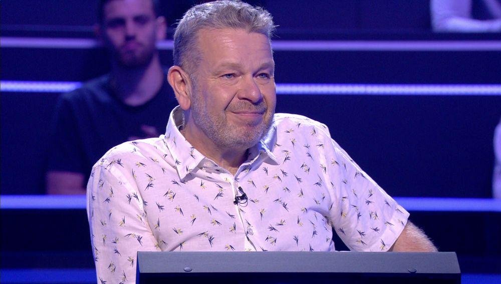 Alberto Chicote sorprende con toda una lección de rugby en '¿Quién quiere ser millonario?'