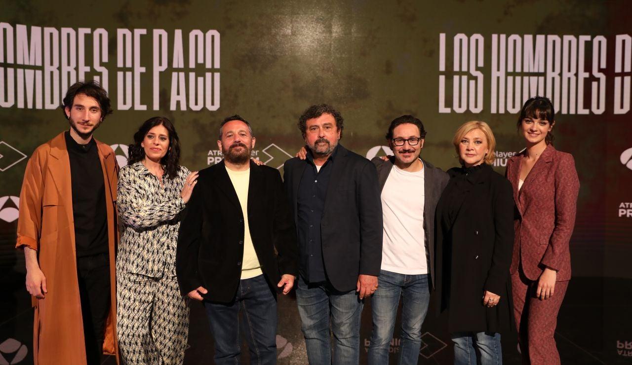 Presentación de 'Los hombres de Paco'