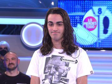 ¡En el peor momento! Borja pierde 77.500 euros en '¡Ahora caigo!'