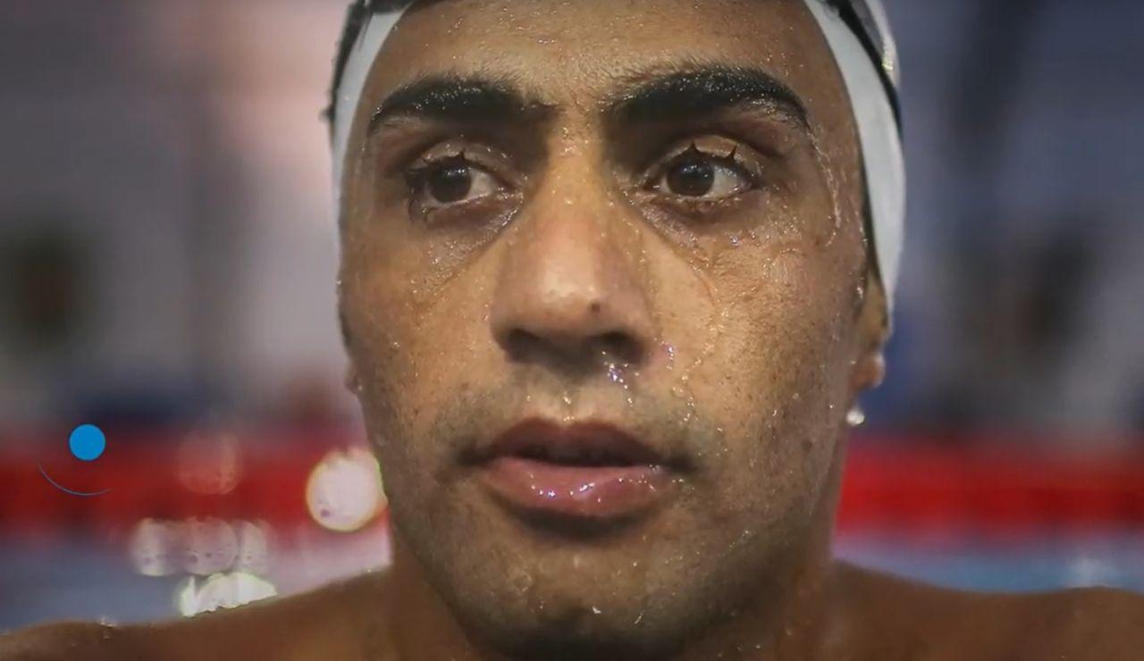 """Ibrahim Al Hussein, el refugiado sirio que entrena para llegar a los JJOO de Tokio: """"Nado por los refugiados del mundo"""""""