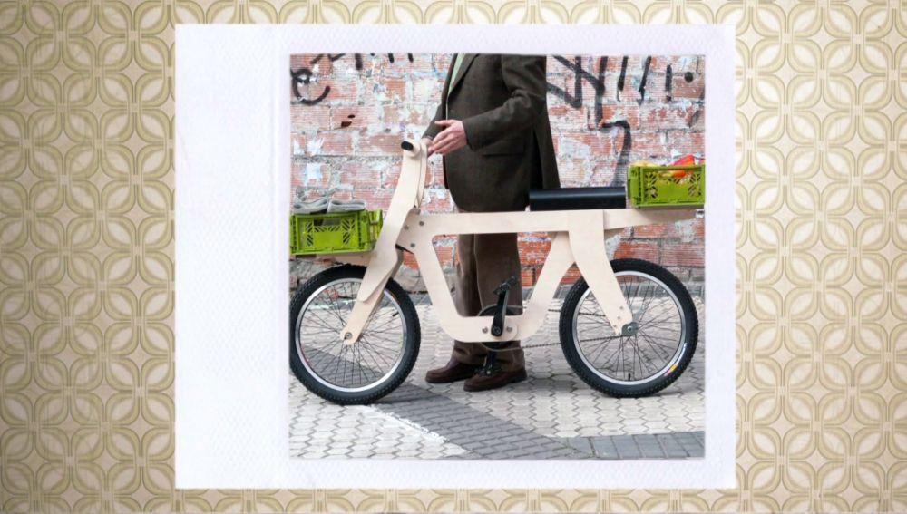 Openbike, la bicicleta de madera imprimible