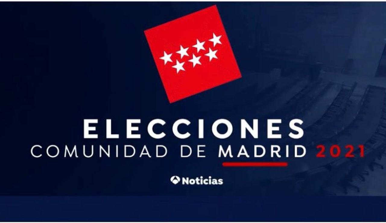 Cobertura elecciones Madrid Antena 3 Noticias