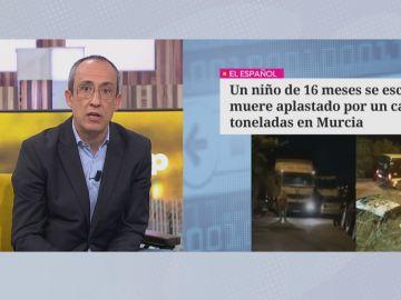 Muere un bebé atropellado en Murcia