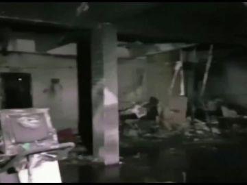 Un incendio en un hospital de enfermos de coronavirus se suma al problema de la falta de oxígeno de la India