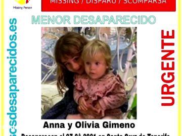 Las vías de investigación abiertas en el caso de la desaparición de un padre y sus hijas en Tenerife