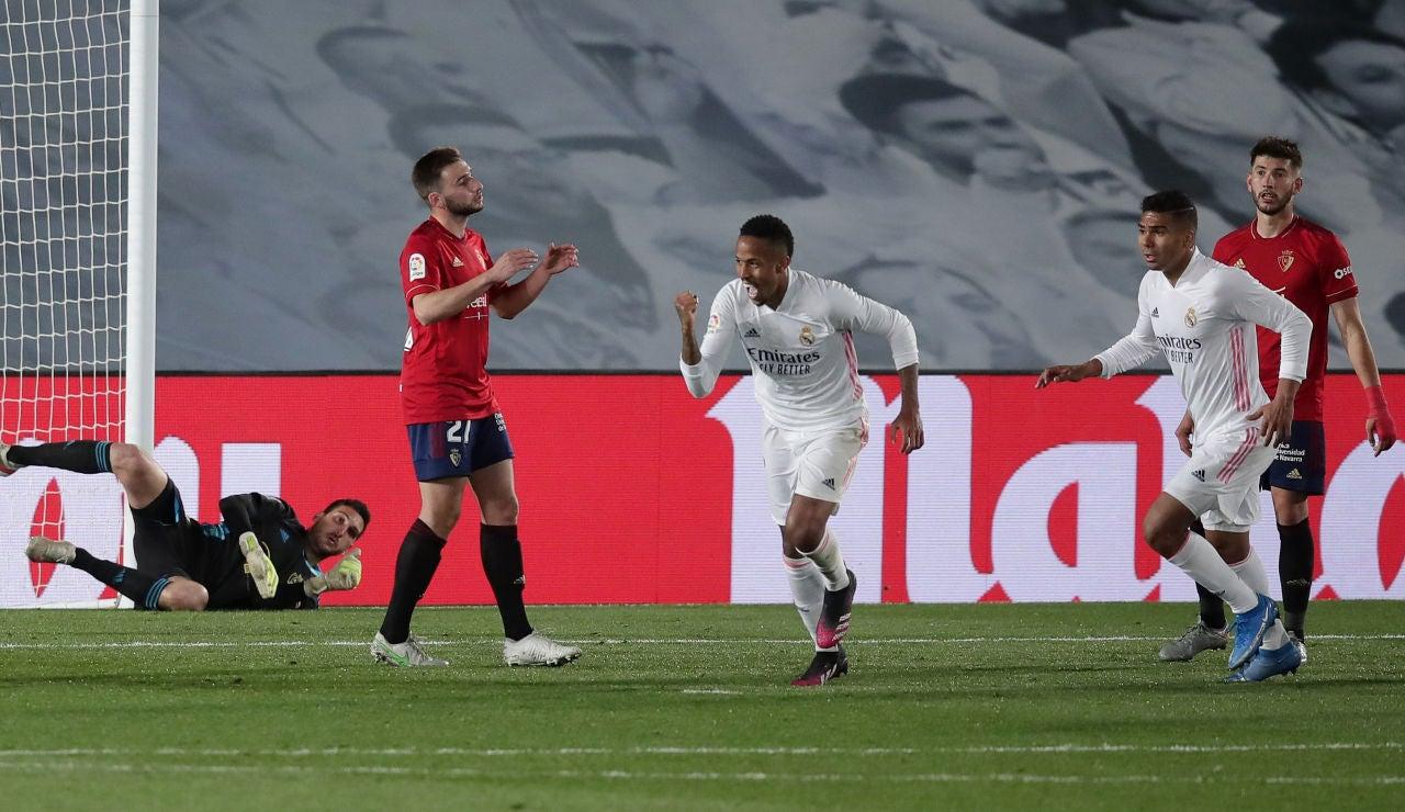 Militao y Casemiro permiten al Real Madrid seguir vivo en la lucha por la Liga Santander