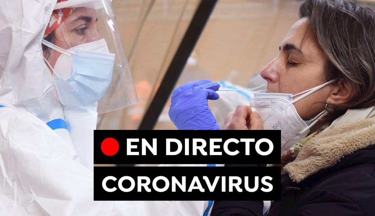 Coronavirus en España:  Última hora de las vacunas, restricciones y contagios en directo