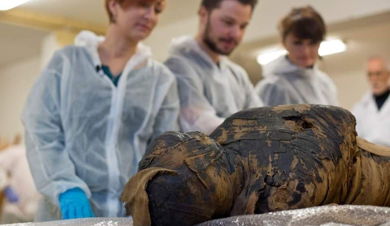 La primera momia emabarazada de la historia