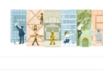 Google celebra el Día del Trabajo 2021 y le dedica el doodle de hoy