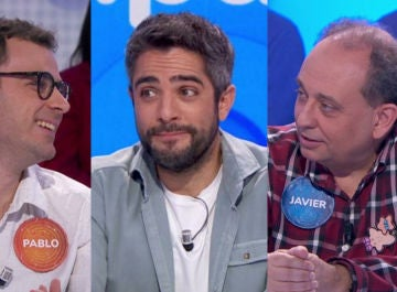 Pablo Díaz, Roberto Leal y Javier Dávila