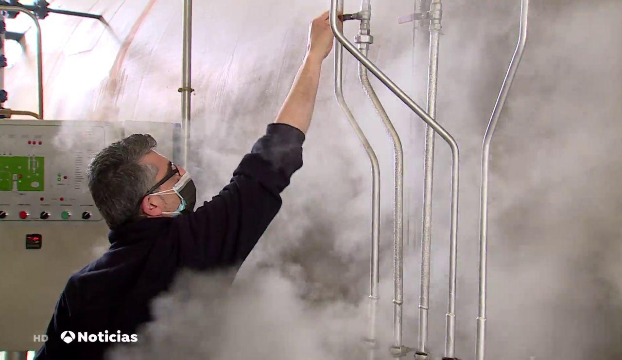 El gran reto que superaron los hospitales españoles produciendo más oxígeno en el pico de la pandemia de coronavirus