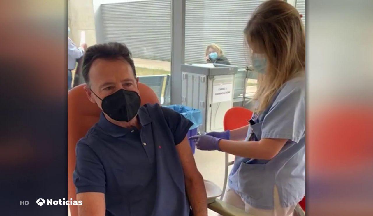 """Matías Prats, dos días después de vacunarse contra el coronavirus: """"Ni un dolor de cabeza"""""""