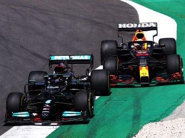 Hamilton impone su ley en el Gran Premio de Portugal y Alonso hace su mejor carrera con Alpine terminando 8º, Sainz 9º