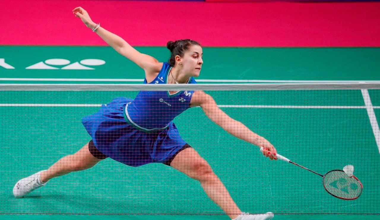 Carolina Marín hace historia y se proclama campeona de Europa por quinta vez consecutiva