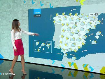 Las tormentas y lluvias se concentran este domingo en el Sistema Central y el Mediterráneo
