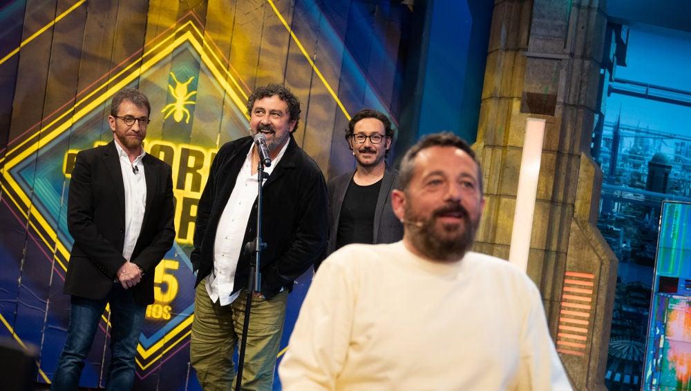 Eructos, cacareos y besitos: ¿cuánto se conocen Paco Tous, Pepón Nieto y Carlos Santos entre ellos?