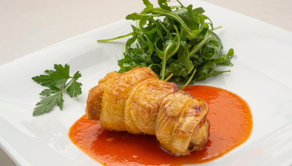 Receta de muslos de pollo rellenos, de Karlos Arguiñano