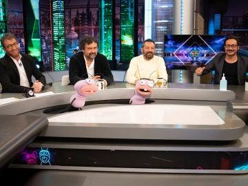 'Los hombres de Paco' descubren las identidades de personajes famosos de películas en 'El Hormiguero 3.0'