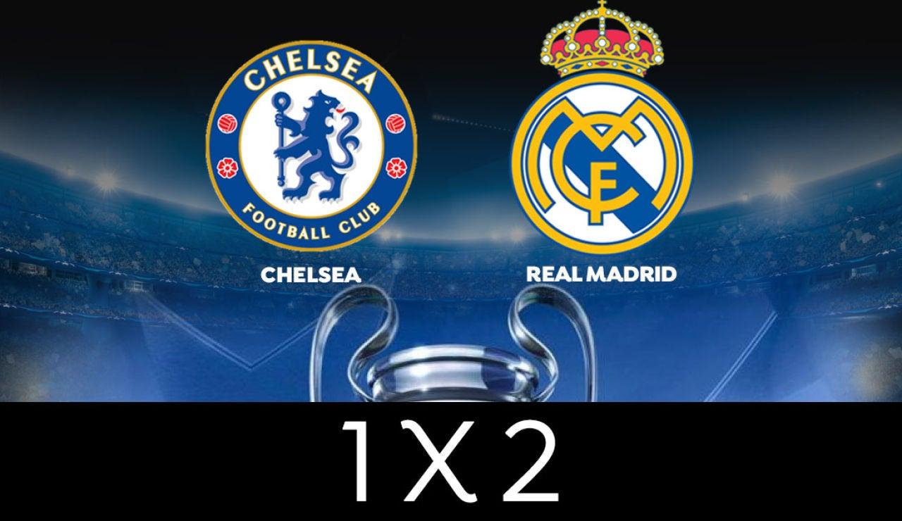 VOTA: Chelsea o Real Madrid, ¿quién llegará a la final de la Champions League?