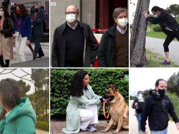 La jornada de reflexión de las elecciones de Madrid: Jogging, paseos en familia y lecturas