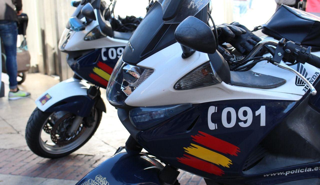 Motocicletas Policía Nacional
