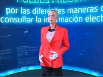 Sophia, el humanoide que ofrecerá los datos de las elecciones en Madrid