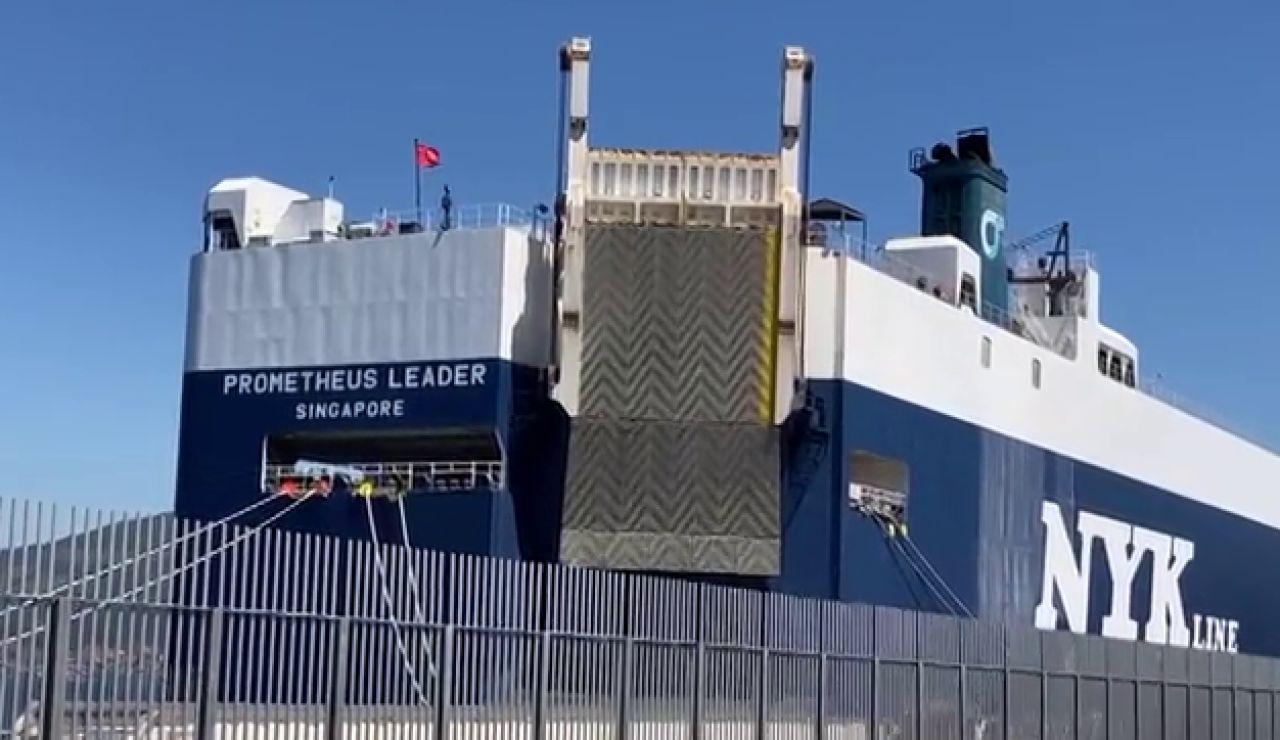 Confirmados 6 casos de la variante india del coronavirus en un barco atracado en el puerto de Vigo