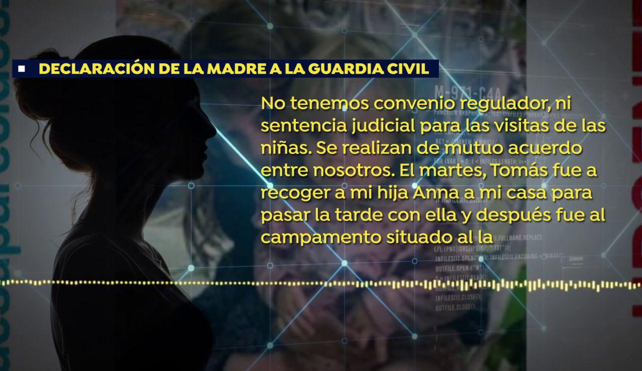 Testimonio de la madre de las niñas desaparecidas