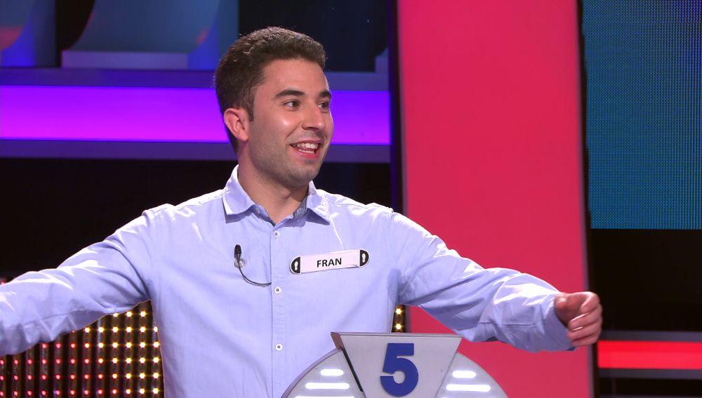 La presentación de un concursante descoloca al público de '¡Ahora caigo!'