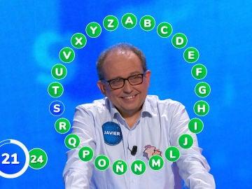 ¡A una palabra de 1.570.000 euros! Javier protagoniza un rosco repleto de adrenalina: valentía, decisión y compañerismo