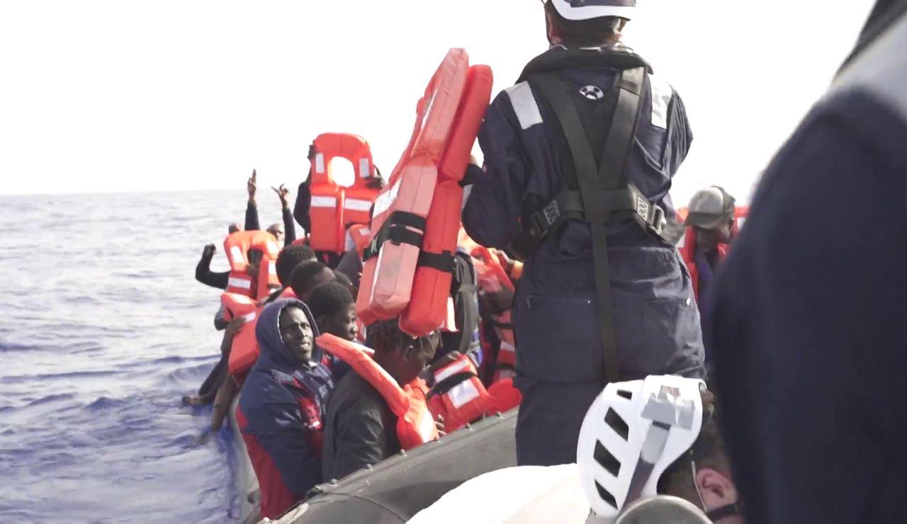 Sea Watch rescata a 51 inmigrantes