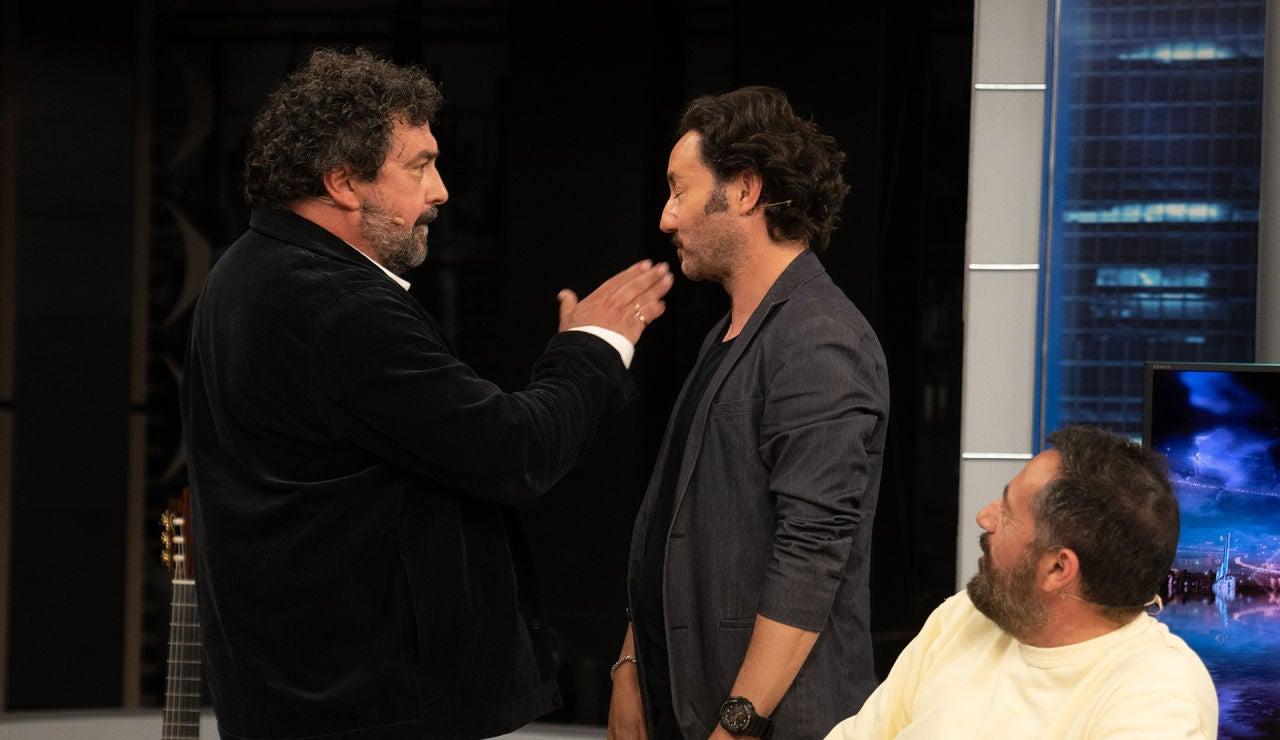 """La demostración """"en cámara súper lenta"""" de como Paco Miranda abofetea a Povedilla, en 'Los hombres de Paco'"""