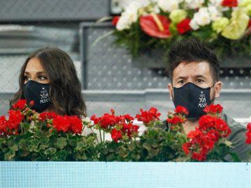 Claudina Nieto y Pablo López en el Mutua Madrid Open