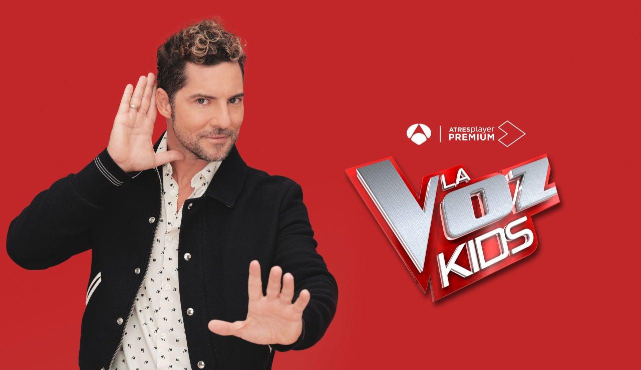David Bisbal en 'La Voz Kids'