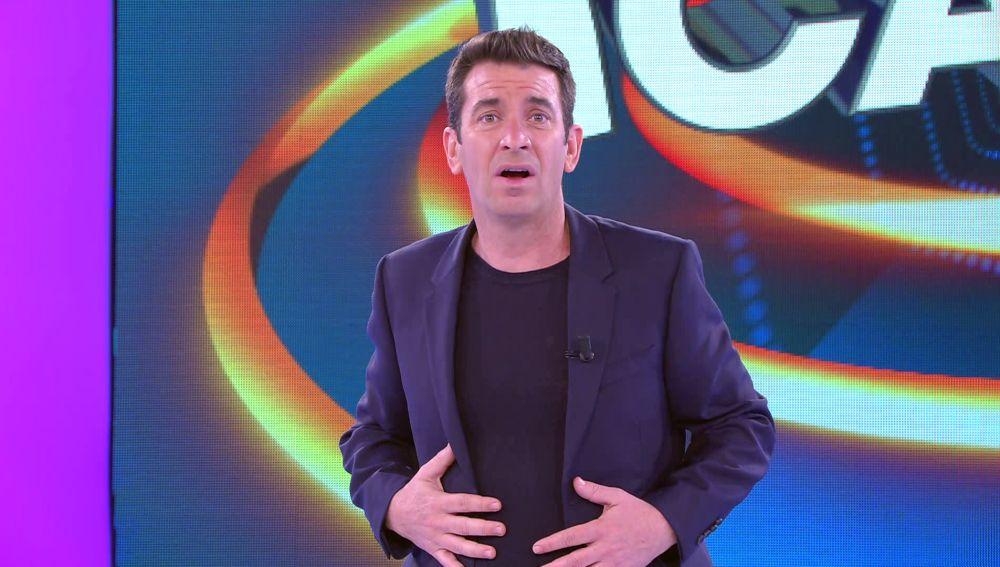 ¿Una bienvenida sin aplausos? Arturo Valls recibe una sorpresa del público de '¡Ahora caigo!'