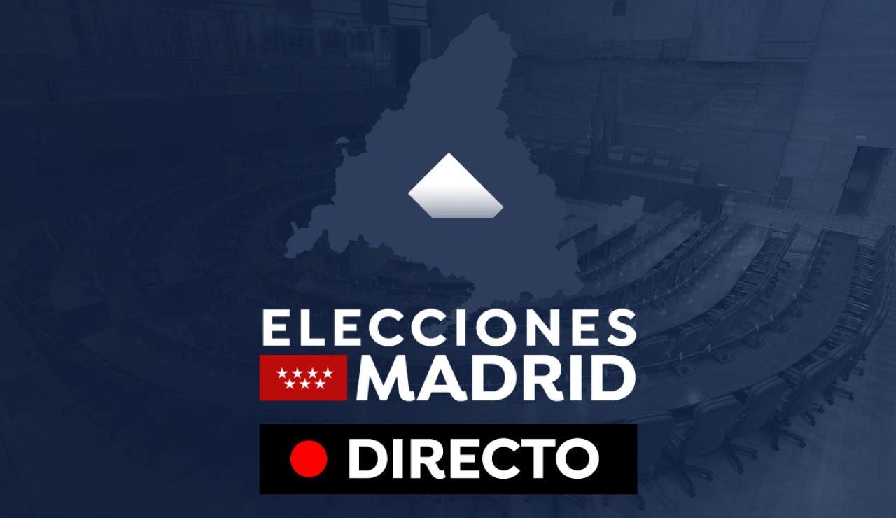 Elecciones Madrid resultados en directo: Quién gana, participación, sondeos y última hora