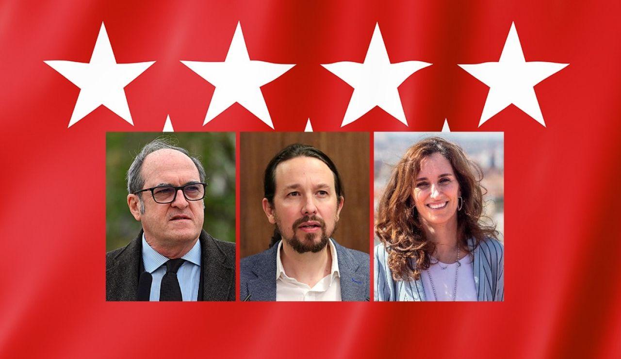 Los posibles pactos del boque de izquierdas tras las elecciones de Madrid
