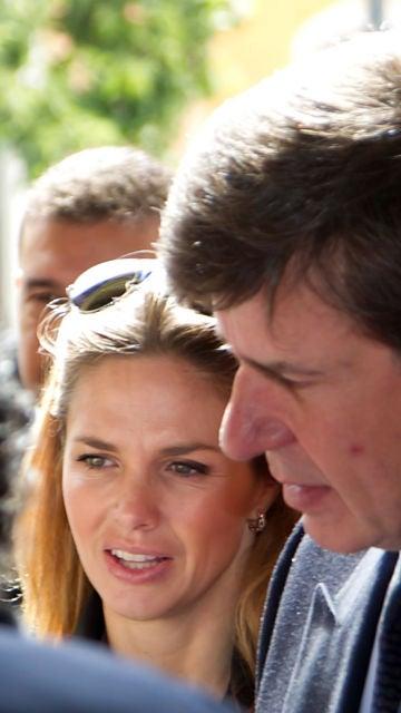 Cayetano Martínez de Irujo y su exmujer Genoveva Casanova