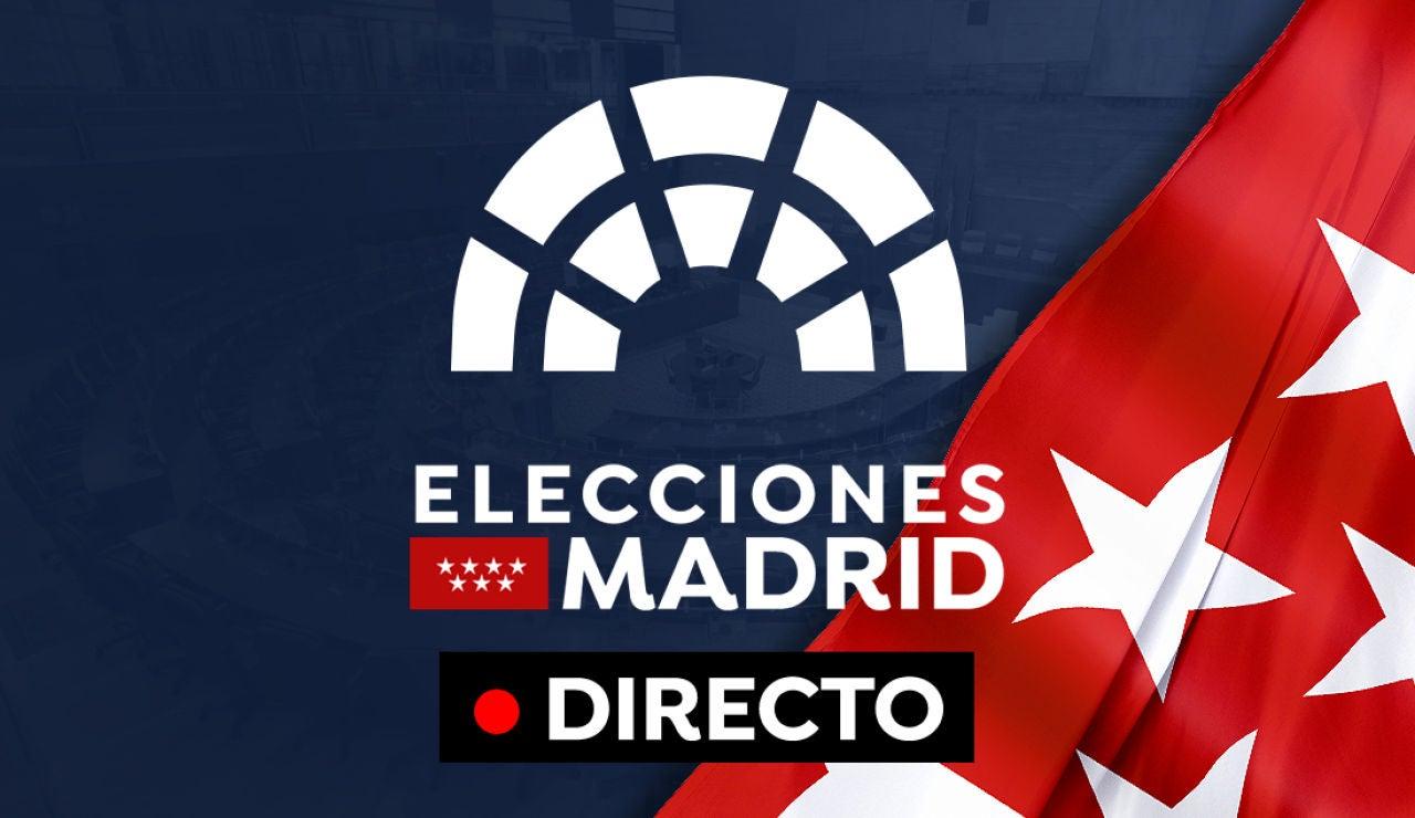 Elecciones Madrid: Resultados, horario votación y última hora de la votaciones, en directo