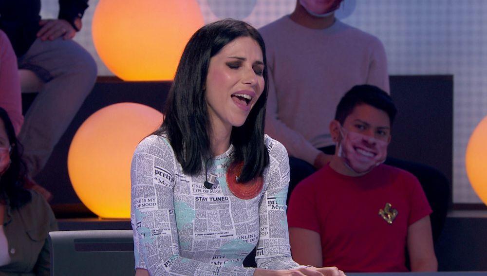 Nika presume de voz con 'Amelia' en 'Pasapalabra'