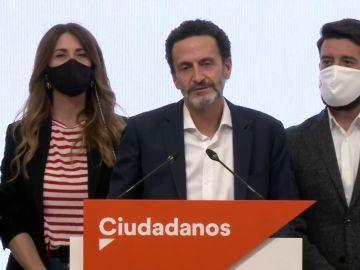 Ciudadanos se queda fuera de la Asamblea en las elecciones de Madrid