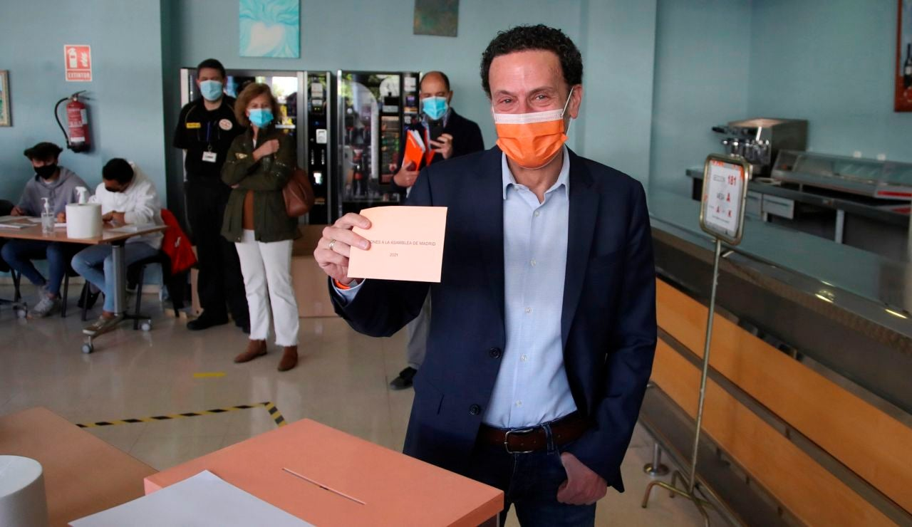 Edmundo Bal, candidato de Ciudadanos a las elecciones en Madrid