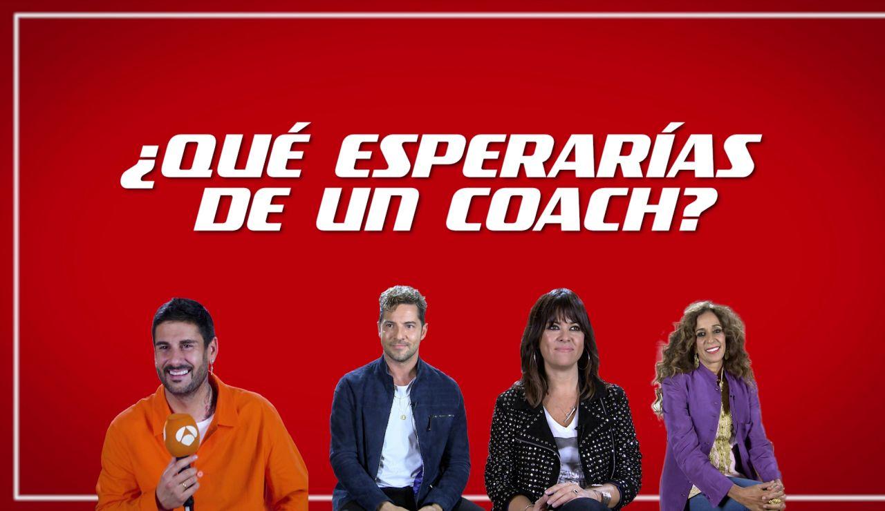 David Bisbal, Vanesa Martín, Rosario y Melendi se imaginan siendo niños de 'La Voz Kids': ¿qué buscarían en un coach?
