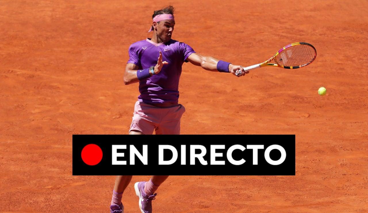 Rafa Nadal - Novak Djokovic: Final del Masters de Roma, en directo