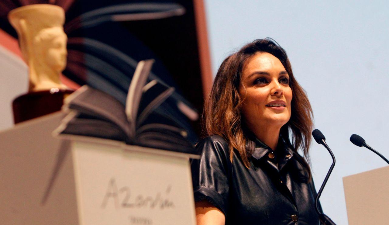 Mónica Carrillo, ganadora del Premio Azorín 2020