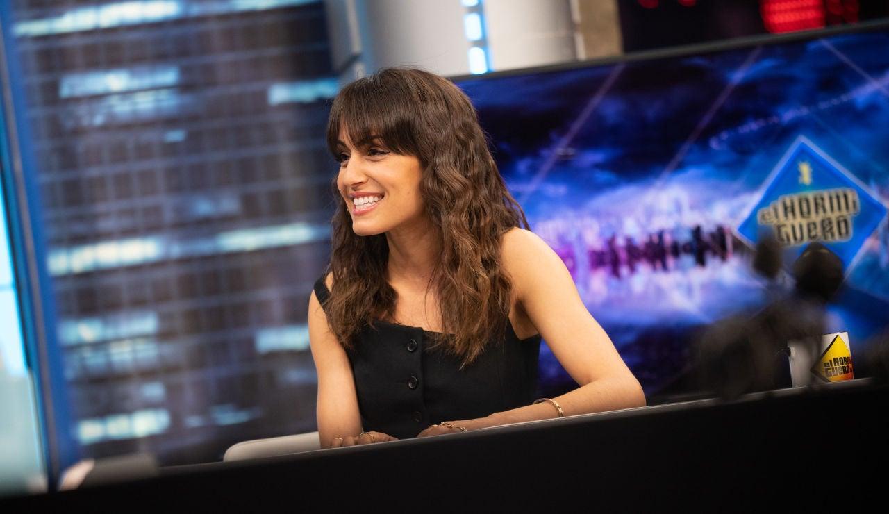 """Hiba Abouk reflexiona sobre la maternidad en 'El Hormiguero 3.0': """"Me explota el pecho de amor"""""""