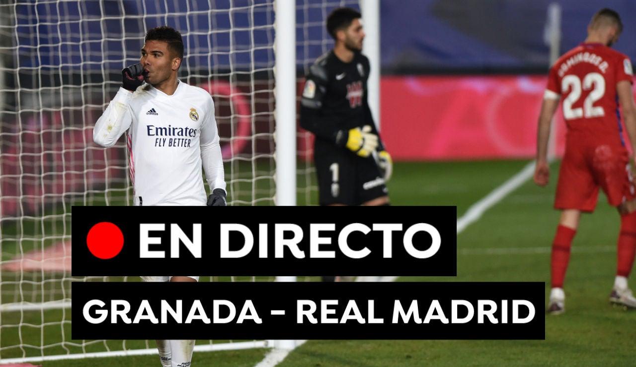 Granada - Real Madrid: Fútbol, alineaciones y partido de hoy de Liga Santander, en directo