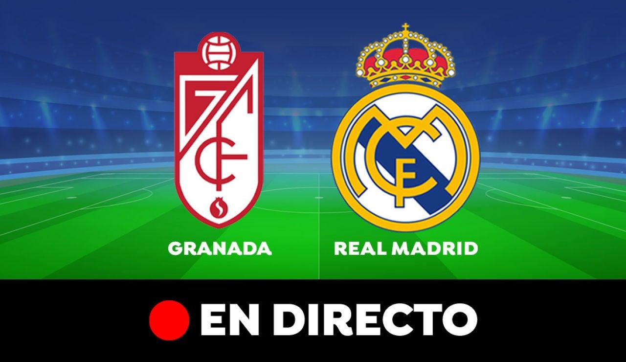 Granada - Real Madrid: Partido de hoy de Liga Santander, en directo